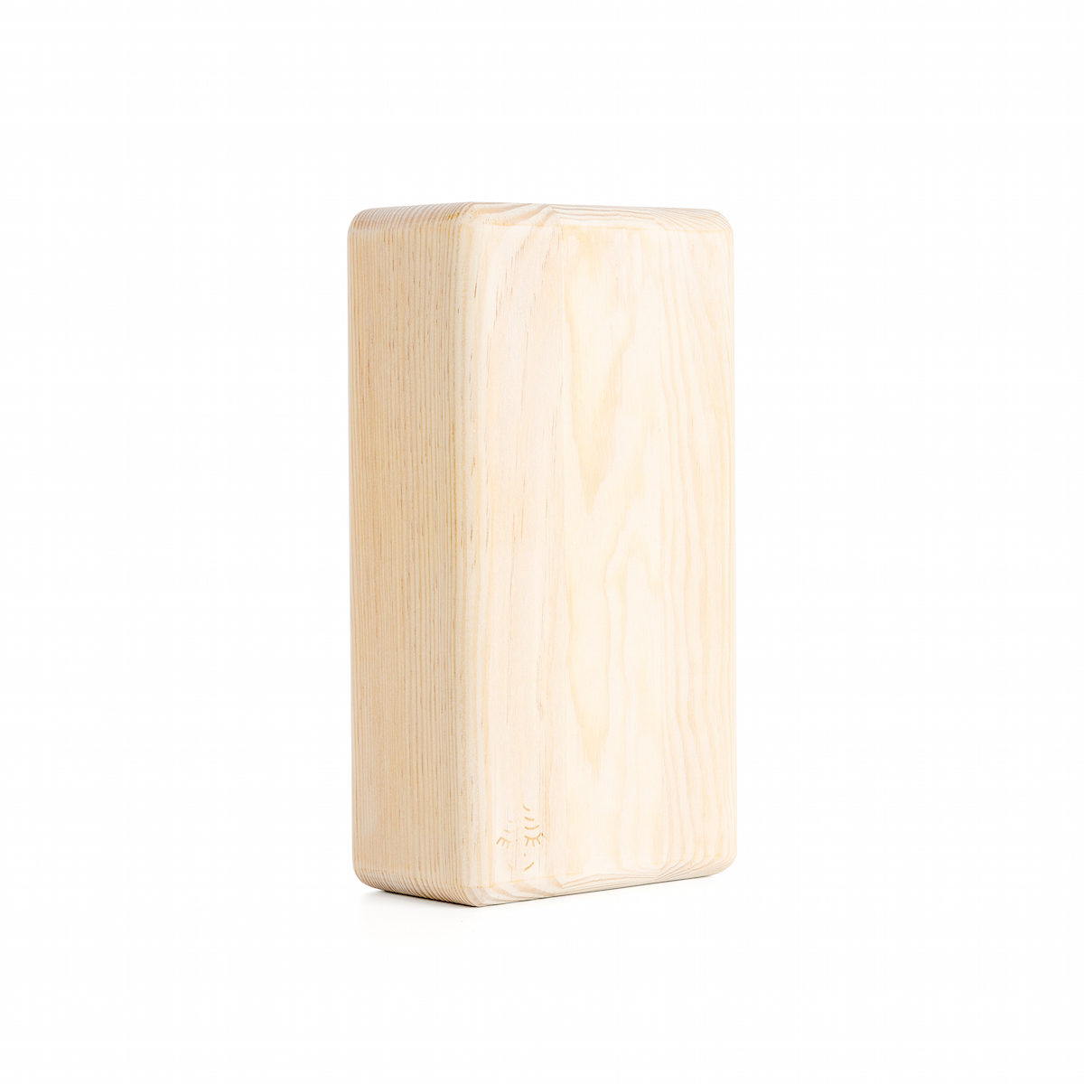 wooden kaolin white yoga block, yoga accessorize