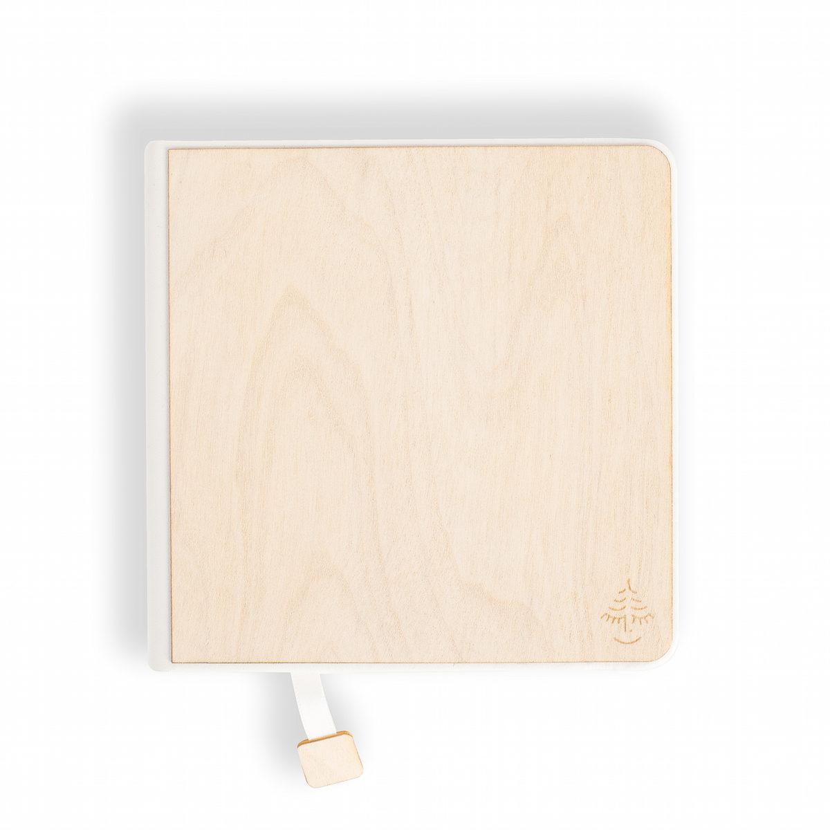 notebook, sketchbook, white wood,