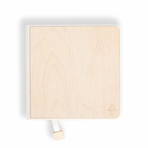 notebook, sketchbook, white wood,
