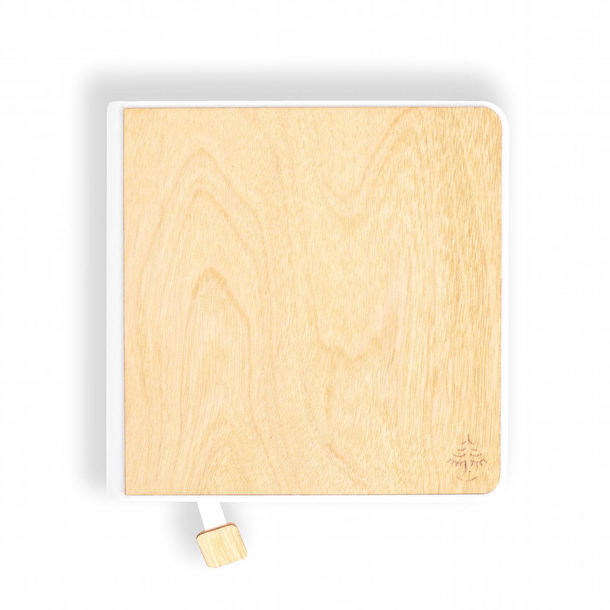 notebook, sketchbook yellow, wooden notebook